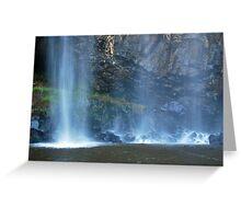 Water Veil Trentham Falls Greeting Card