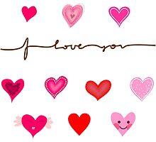 Love Card by Anastasiia Kucherenko