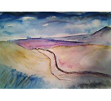 'Eastby Moor, Yorkshire Dales' Photographic Print