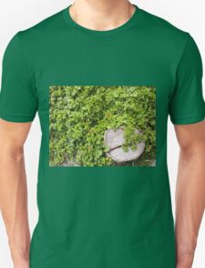 Top view of a tree stump on a bed T-Shirt