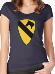 1st Cavalry Division (United States) Women's Fitted Scoop T-Shirt