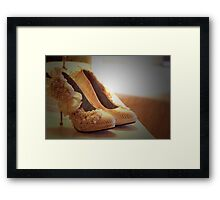 ♥ love my shoes ♥ Framed Print