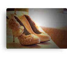 ♥ love my shoes ♥ Canvas Print