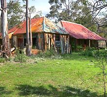 Old Abandoned Home and Hut - Nerriga, NSW, Australia by Martin Lomé