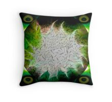 Fractal - Shattered and Reflected Throw Pillow