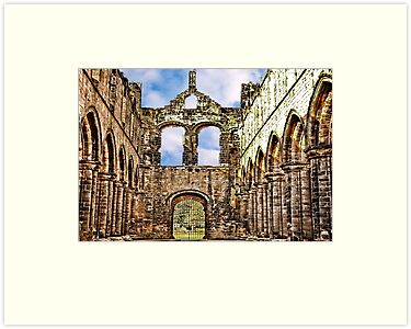 Kirkstall Abbey Ruins by Trevor Kersley