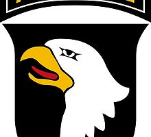 101st Airborne Division (US Army) by wordwidesymbols