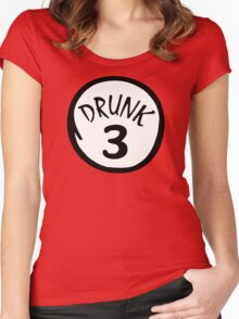 Drunk 3 Women's Fitted Scoop T-Shirt