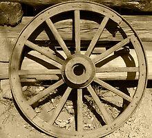 Wagon Wheel by Gary L   Suddath
