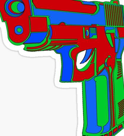 Gun Fun 1 Sticker