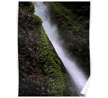 Water Runs Poster