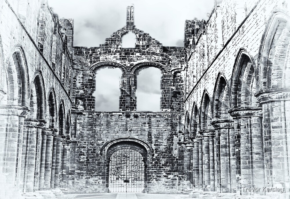 The Ruins of Kirkstall Abbey by Trevor Kersley