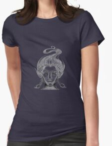 Girl with Peacock Feather Earrings T-Shirt
