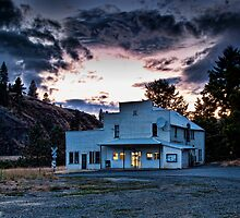 Lenore Post Office by Mike  Kinney