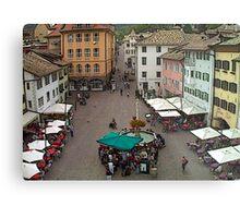 """Streetscape - Caldaro al Lago, Veneto, Italy"" Metal Print"