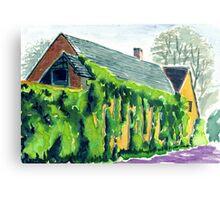 Old House, Melbourne, Derbyshire Canvas Print