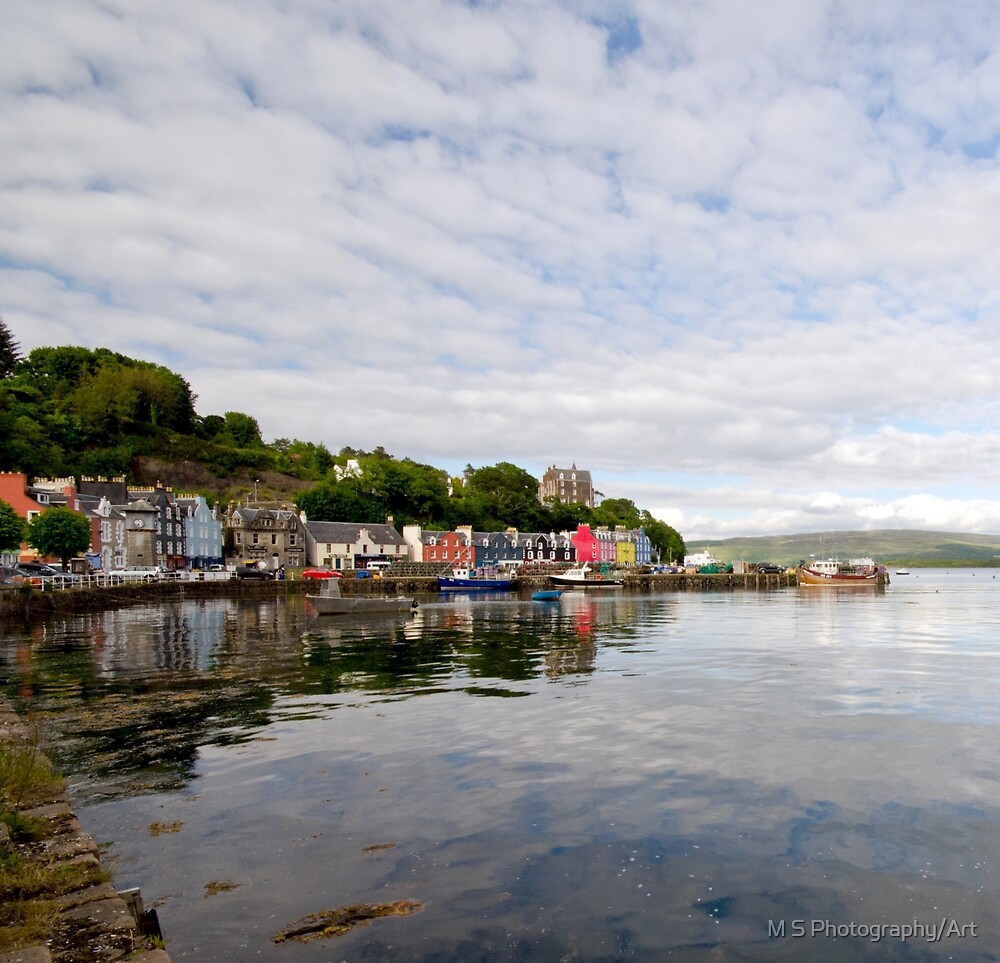 Tobermory,Isle of Mull Scotland by M.S. Photography/Art