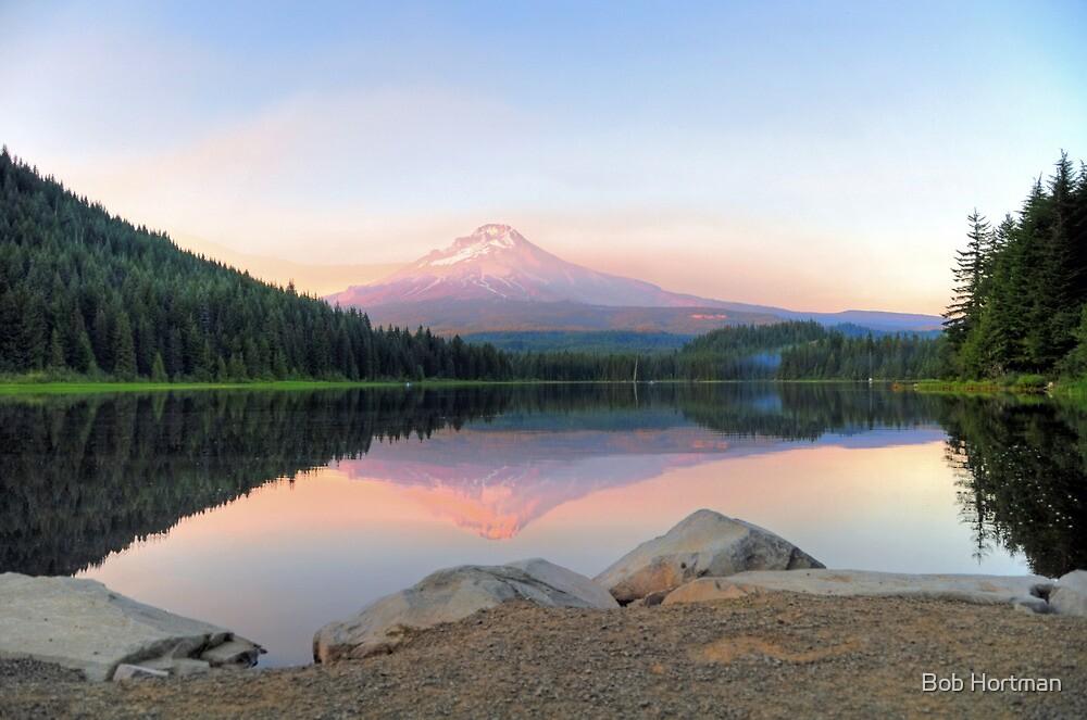 Trillium Sunset by Bob Hortman