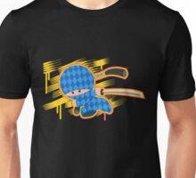 Blue Argyle Ninja Unisex T-Shirt
