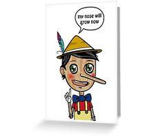 Liar's Paradox Greeting Card