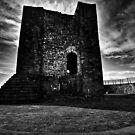 Clitheroe  Castle by inkedsandra
