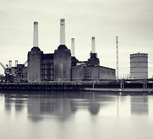 Battersea Power Station, London, UK. by fineartphoto1