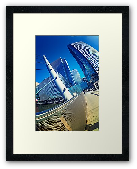 Canary Wahrf, London by fineartphoto1