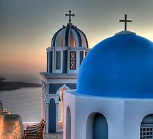 Santorini by Ryan Hasselbach