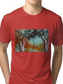 Autumn Landscape  Tri-blend T-Shirt