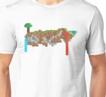 Minecraft Illustration Unisex T-Shirt