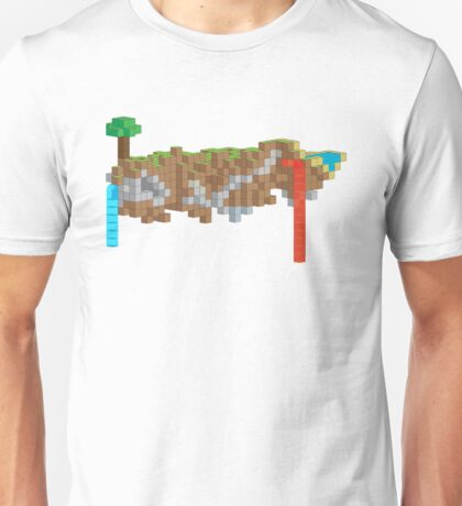 Minecraft Illustration Unisex T-Shirt