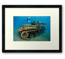 The Tank Framed Print