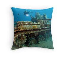 The Tank Throw Pillow