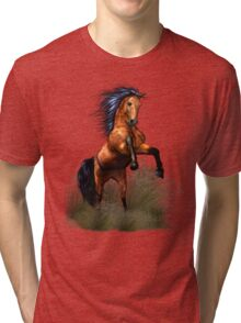 Wild and Free Tri-blend T-Shirt