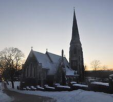 The English church at Kastellet. Christmas 2011 by Robert  Lund