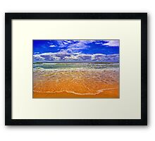 Beachside Bliss Framed Print