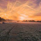 Autumn sunrise at Mapledurham by Jim Hellier
