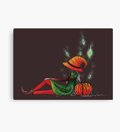 The spirit of Halloween Canvas Print