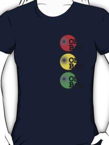 Oh Boy traffic light design T-Shirt