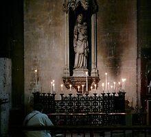 St Germain de pres(Paris) inside church by bertipictures