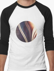 Lines/Abstract 7.1 Men's Baseball ¾ T-Shirt