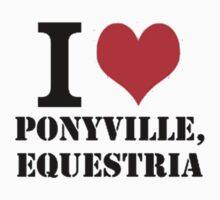 I <3 Ponyville by Blubb