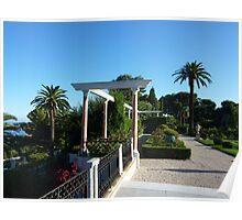 Gardens Of The Ephrussi de Rothschild Villa Poster