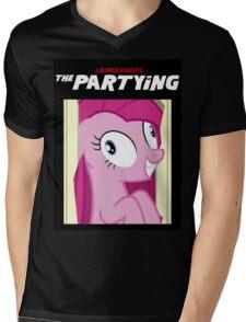 Lauren Faust's The Partying Mens V-Neck T-Shirt