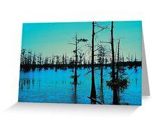 Blue Bayou-Wildlife and Fisheries-Monroe LA Greeting Card