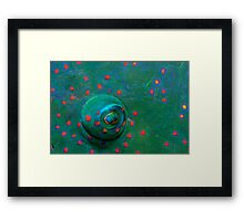Green Eye Framed Print