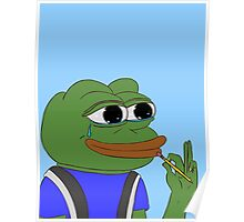 Pepe The Frog - Back To School Poster
