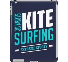 30 Knots Kitesurfing Art14c iPad Case/Skin
