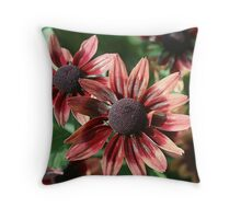 Colorful Cones Throw Pillow