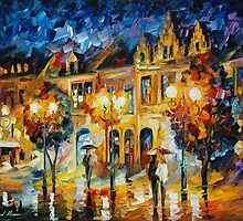 THE RETURN TO THE DREAMS - LEONID AFREMOV by Leonid  Afremov